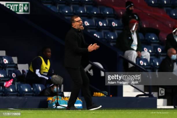 Slaven Bilic head coach / manager of West Bromwich Albion during the Premier League match between West Bromwich Albion and Chelsea at The Hawthorns...