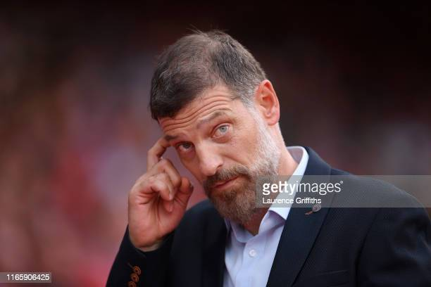 Slaven Bilic of West Bromwich Albion looks on during the Sky Bet Championship match between Nottingham Forest and West Bromwich Albion at City Ground...