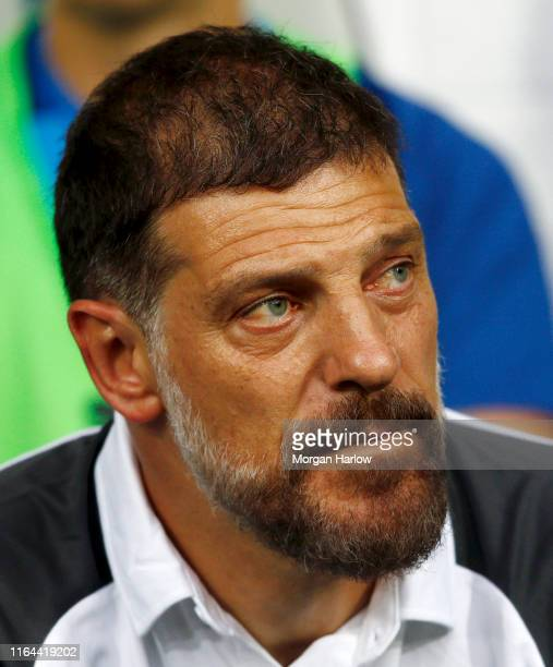 Slaven Bilic of West Bromwich Albion looks on prior during the PreSeason Friendly match between West Bromwich Albion and Bournemouth at The Hawthorns...