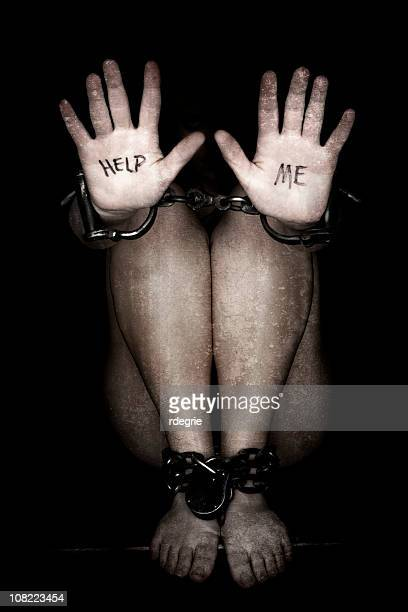 slavery - human trafficking - human trafficking stock photos and pictures