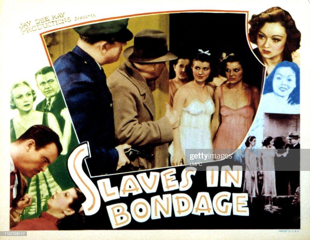 Slave in Bondage Lobby Card Poster