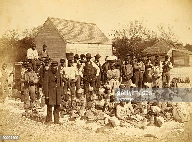 Slaves of the rebel Genl Thomas F Drayton Hilton Head SC