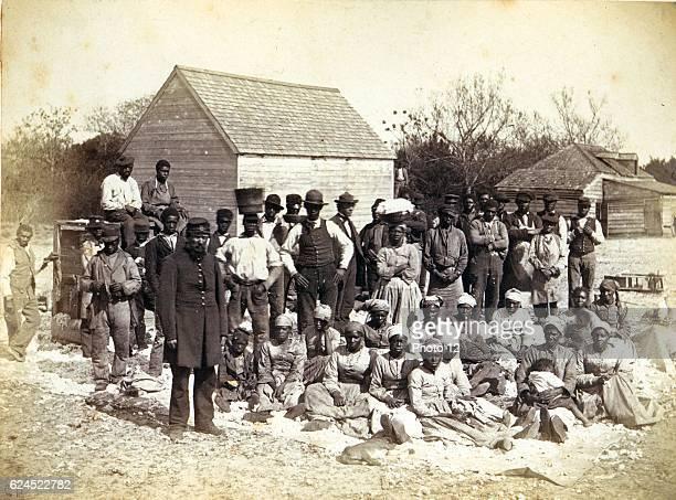 Slaves of Thomas F Drayton of Magnolia Plantation Hilton Head South Carolina During the American Civil War Drayton a Southern plantation owner served...