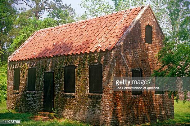 Slave's quarters on the Boone Hall Plantation Charleston SC