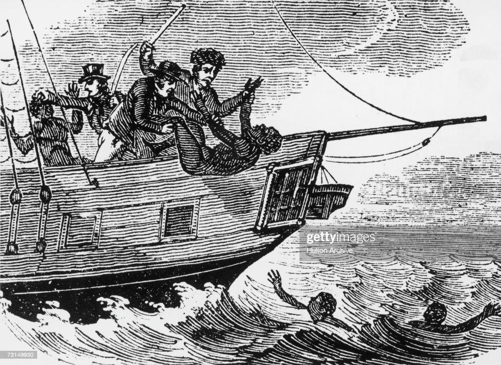 Drowning Slaves : News Photo