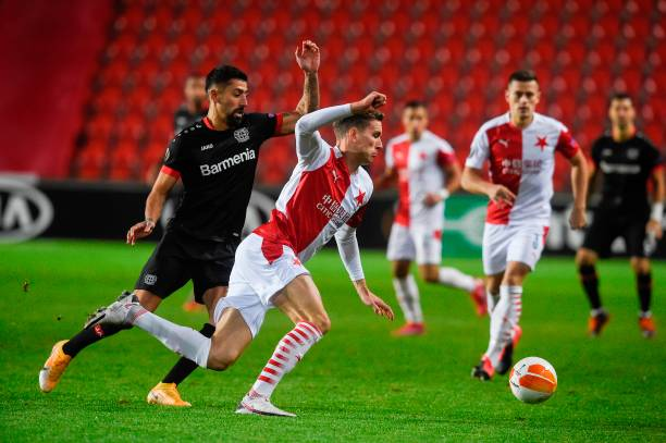 CZE: Slavia Praha v Bayer 04 Leverkusen: Group C - UEFA Europa League