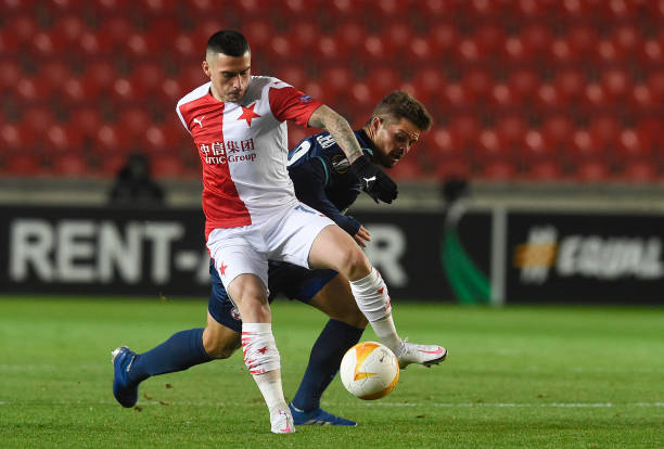 CZE: Slavia Praha v Hapoel Be'er Sheva: Group C - UEFA Europa League