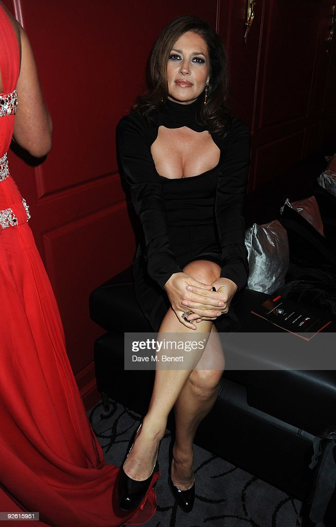 Slavica Ecclestone attends the opening party of The Red Room, on November 2, 2009 in London, England.