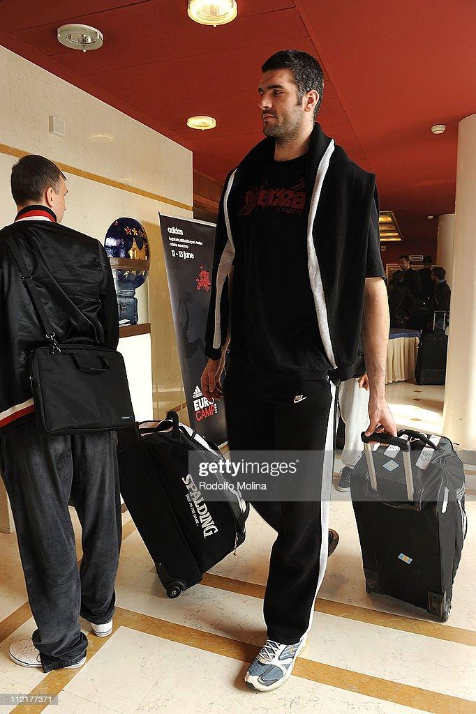 Unics Arrivals - EuroCup Basketball