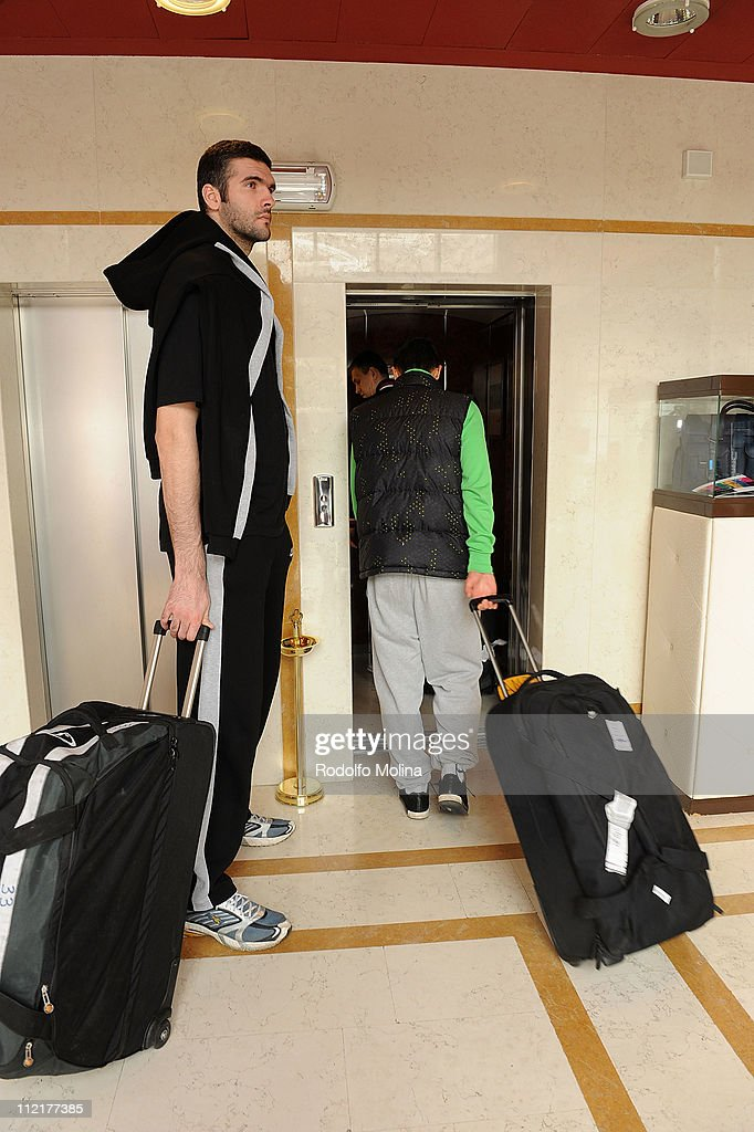 Unics Arrivals - EuroCup Basketball