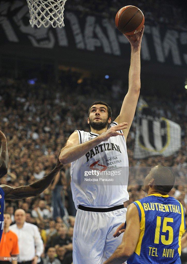 Partizan Belgrade v Maccabi Electra Tel Aviv - Euroleague Basketball