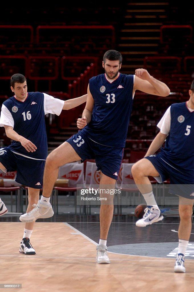 Partizan Athens Practice