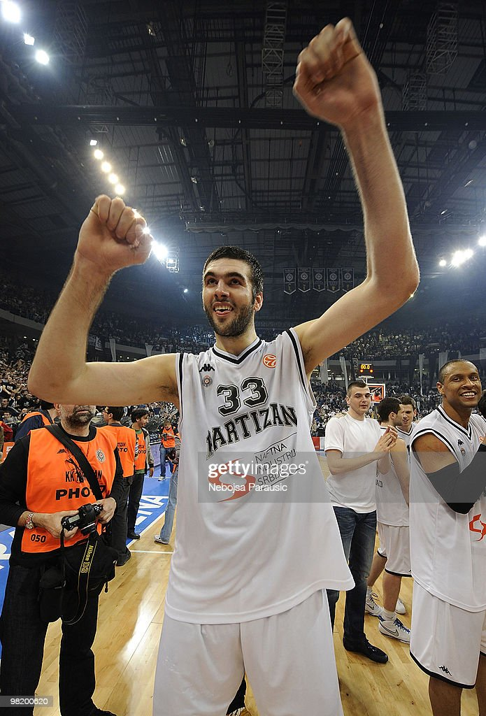 Partizan Belgrade v Maccabi Electra Tel Aviv - Euroleague Basketball