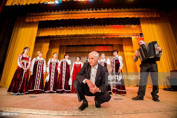 Slavyanka Chorus sing traditional Russian songs at Ivanovka village Azerbaijan Ivanovka is a village with mainly Russian population which maintained...