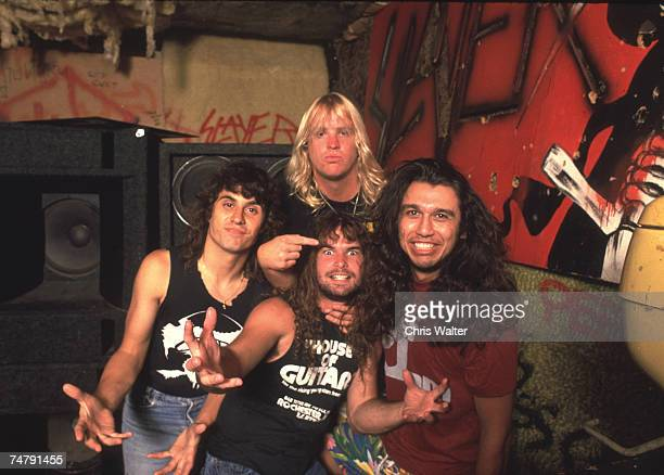 Slayer 1986 during Music File Photos 1980's at the Music File Photos 1980's in los angeles