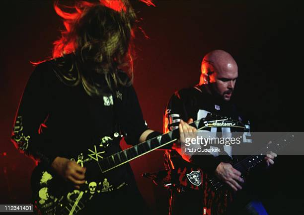 Slayer during Slayer in Concert at Roseland 1995 at Roseland in New York City New York United States