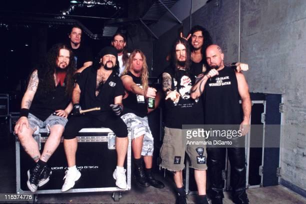 Slayer Pantera during Pantera Photo Session at San Diego in San Diego California United States