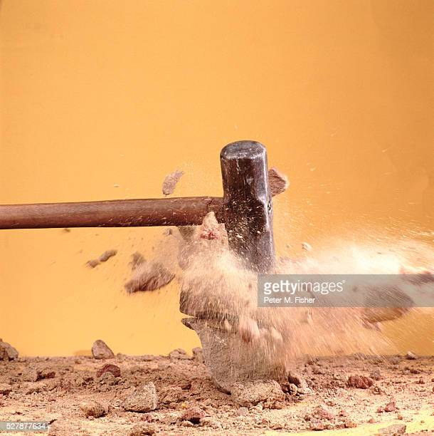 sledgehammer - demolishing stock pictures, royalty-free photos & images