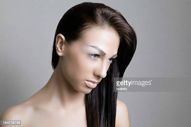 elegante - big eyes imagens e fotografias de stock