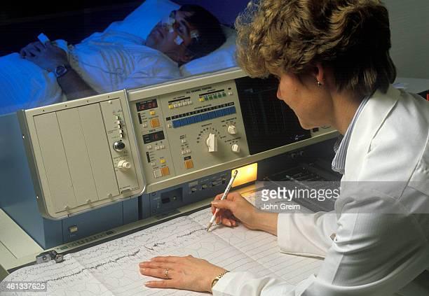 Sleep lab testing
