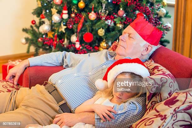 Schlafen in Weihnachten
