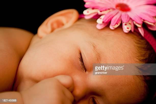 Niña bebé dormir