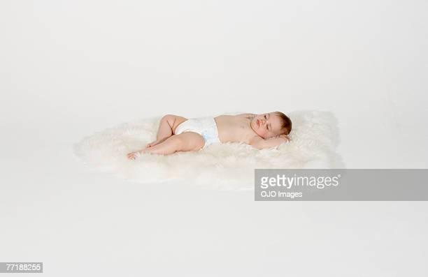 Ein Schlafen baby