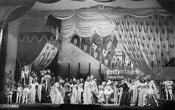 'Sleeping Beauty' Tchaikovsky 's ballet of 1889 Opening night of Rudolf von Laban 's 1934 production at the Berlin State Opera House Pyotr Ilich...