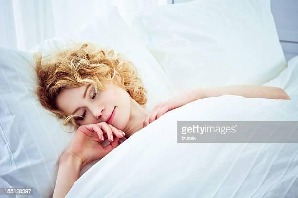 Schlafen blonde