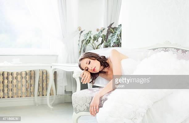 Schlafen Braut