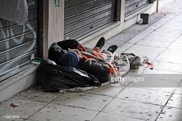 Sleeping homeless