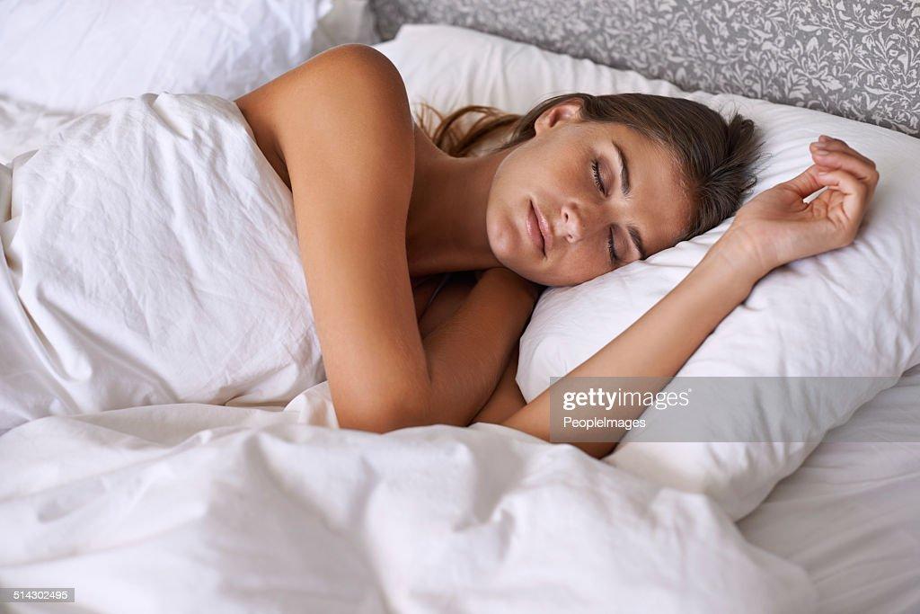Sleeping in : Stockfoto