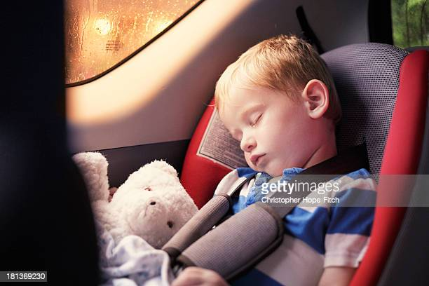 Sleeping in the back seat
