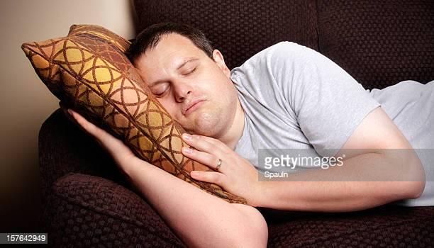 Schlafen auf der Couch