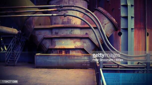sleeping steel giant - ruhrområdet bildbanksfoton och bilder