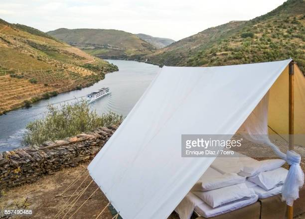 Sleeping tent at the Douro river