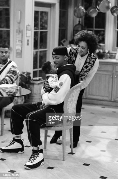 AIR THE 'Sleepless in BelAir' Episode 14 Pictured Alfonso Ribeiro as Carlton Banks Ross Bagley as Nicky Banks Will Smith as William 'Will' Smith...