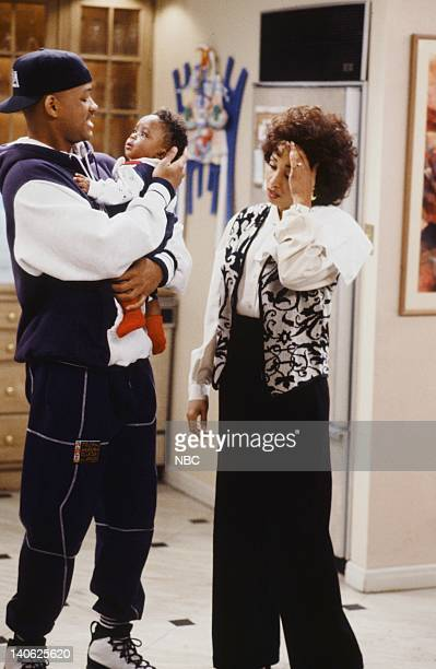 AIR THE 'Sleepless in BelAir' Episode 14 Pictured Will Smith as William 'Will' Smith Ross Bagley as Nicky Banks Daphne Reid as Vivian Banks Photo by...