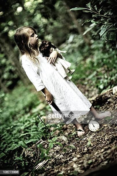sleepwalker - nachthemd stockfoto's en -beelden