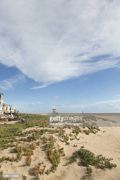 sleepy beachtown - image title stock pictures, royalty-free photos & images
