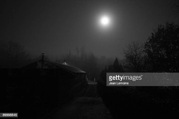 sleepy hollow - moonlight stock pictures, royalty-free photos & images