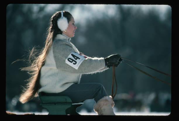 Sleigh Racer at Winter Carnival