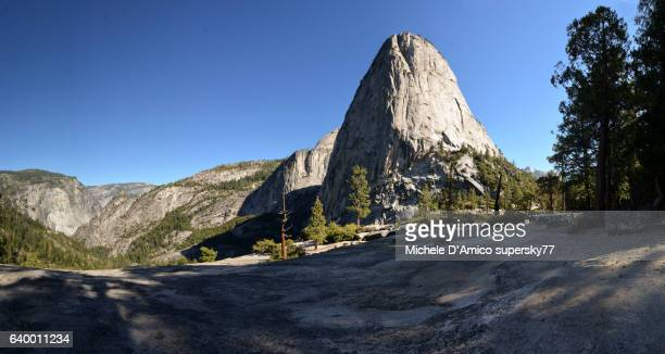 slender granite domes - john muir trail stock photos and pictures