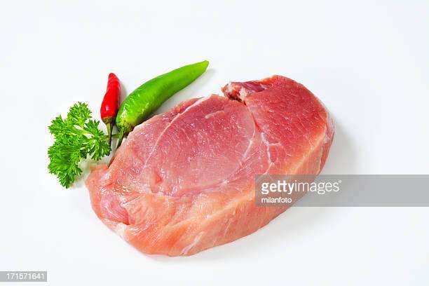 Slice of beef shoulder