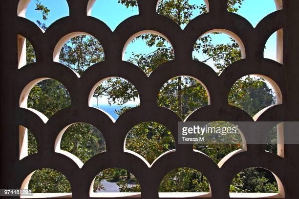 slice of blue - getty villa foto e immagini stock