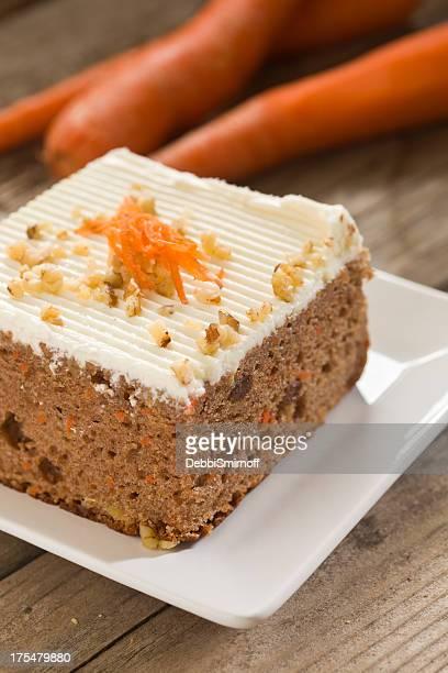 Stück Of Karottenkuchen