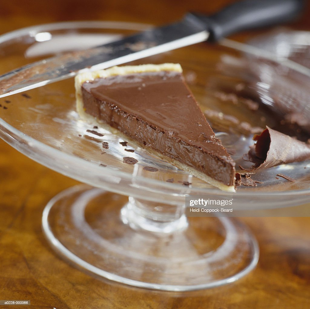 Slice of Chocolate Cheesecake : Stock Photo