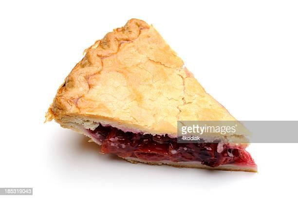 Slice of delicious looking pie