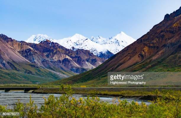 a slice of denali - highlywood stock pictures, royalty-free photos & images
