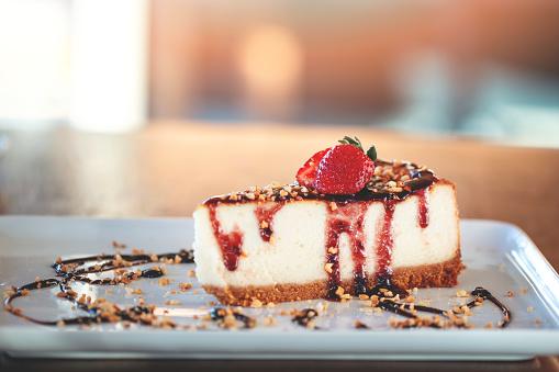 Slice of dessert 1045197702